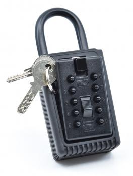 Schlüsselsafe mit Code  - Keysafe Pro Portable